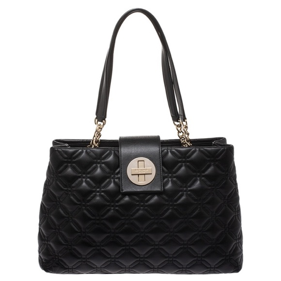 kate spade Handbags - Kate Spade Astor Elena Court Quilted Leather Tote
